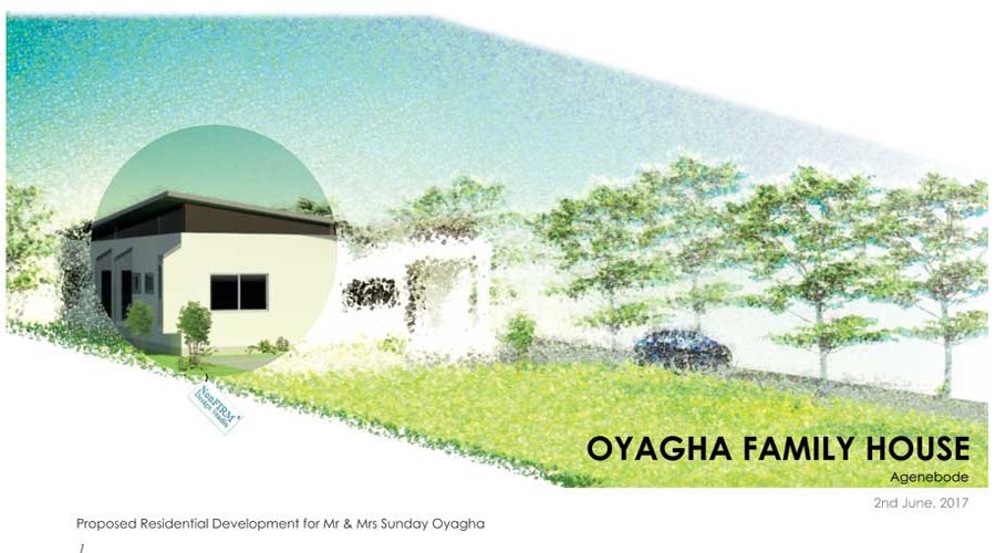 Sunday Oyagha Family House Agenebode
